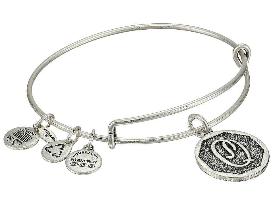 Alex and Ani Alex and Ani - Initial Q Charm Bangle