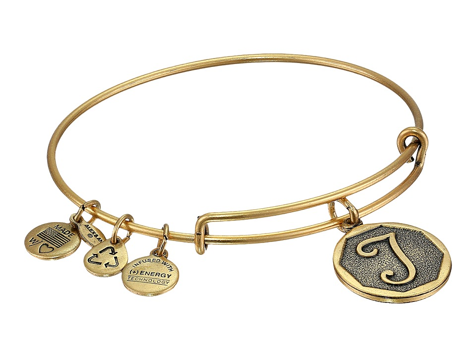 Alex and Ani - Initial T Charm Bangle