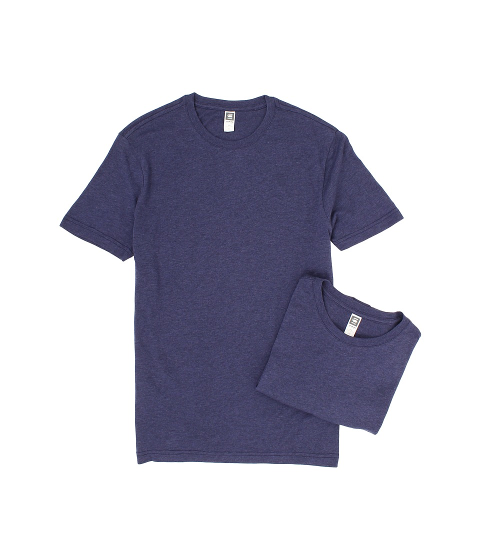 G-Star Base Heather R S/S Tee 2-Pack (Shade) Men