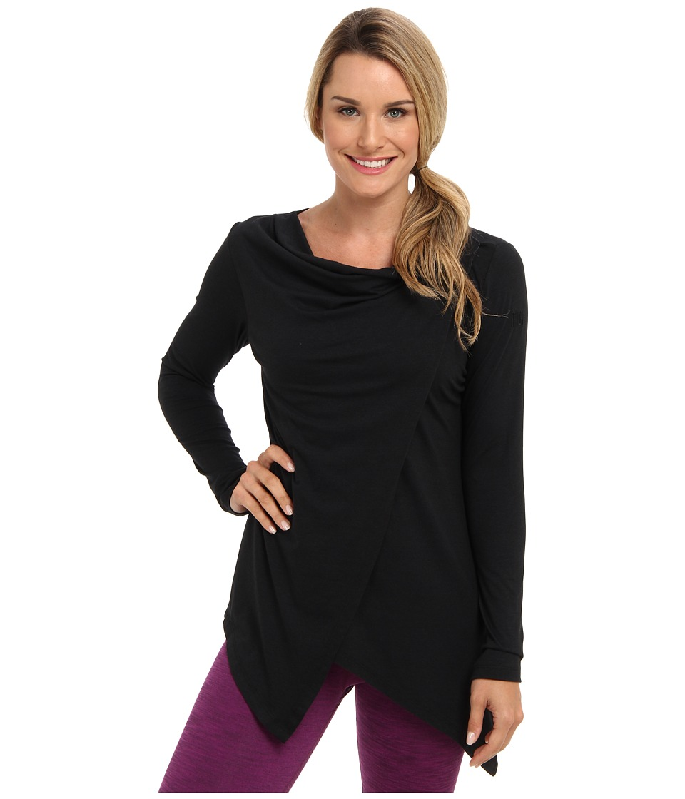 FIG Clothing - Pailin Top (Black) Womens Long Sleeve Pullover