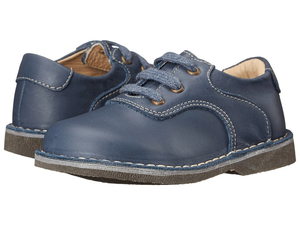 Kid Express - Ryan (Toddler/Little Kid/Big Kid) (Navy Leather) Boys Shoes