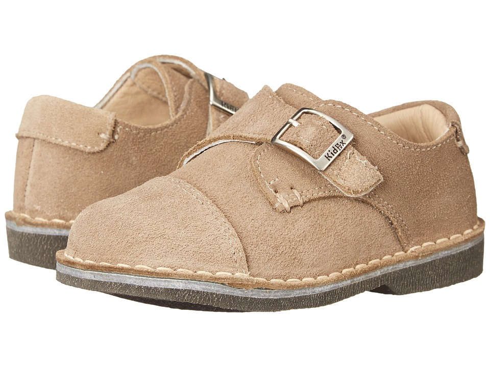 Kid Express Marc Toddler/Little Kid/Big Kid Tan Suede Boys Shoes