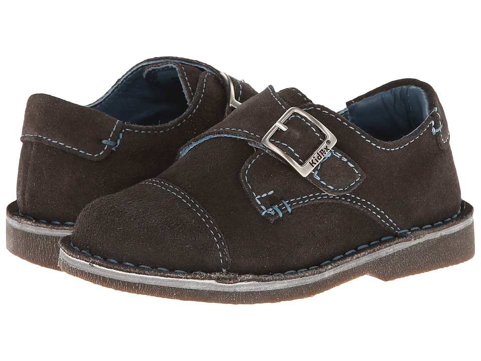 Kid Express Marc Toddler/Little Kid/Big Kid Gray Suede Boys Shoes