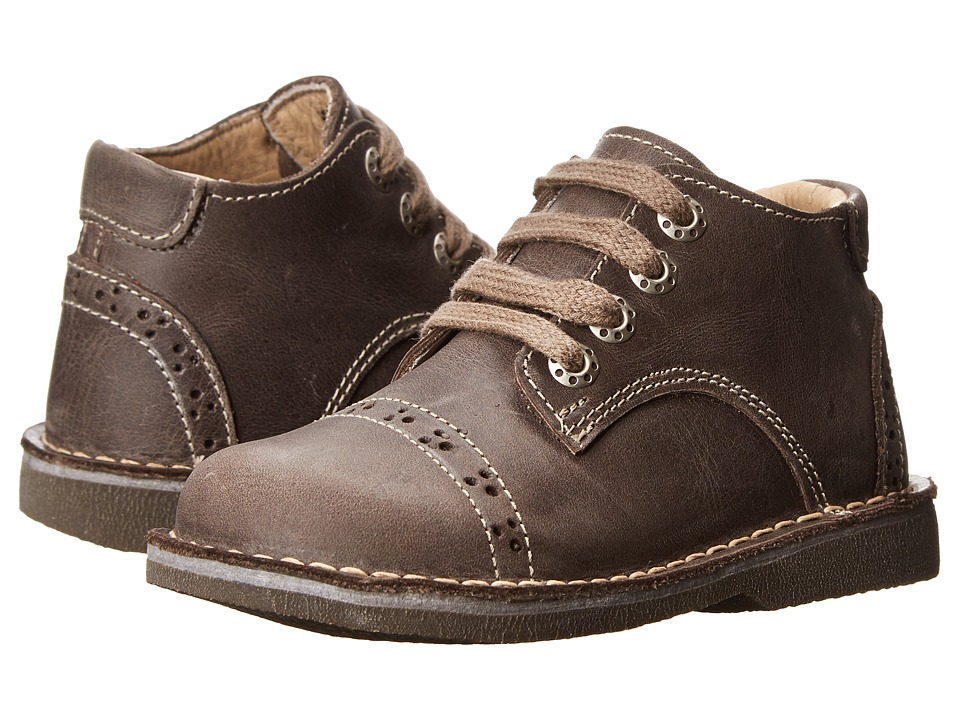 Kid Express Easton (Toddler/Little Kid/Big Kid) (Dark Brown Leather) Boy's Shoes