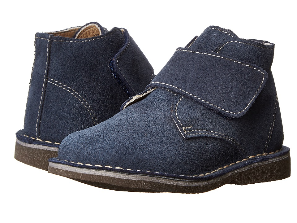 Kid Express Maddox Toddler/Little Kid/Big Kid Navy Suede Boys Shoes