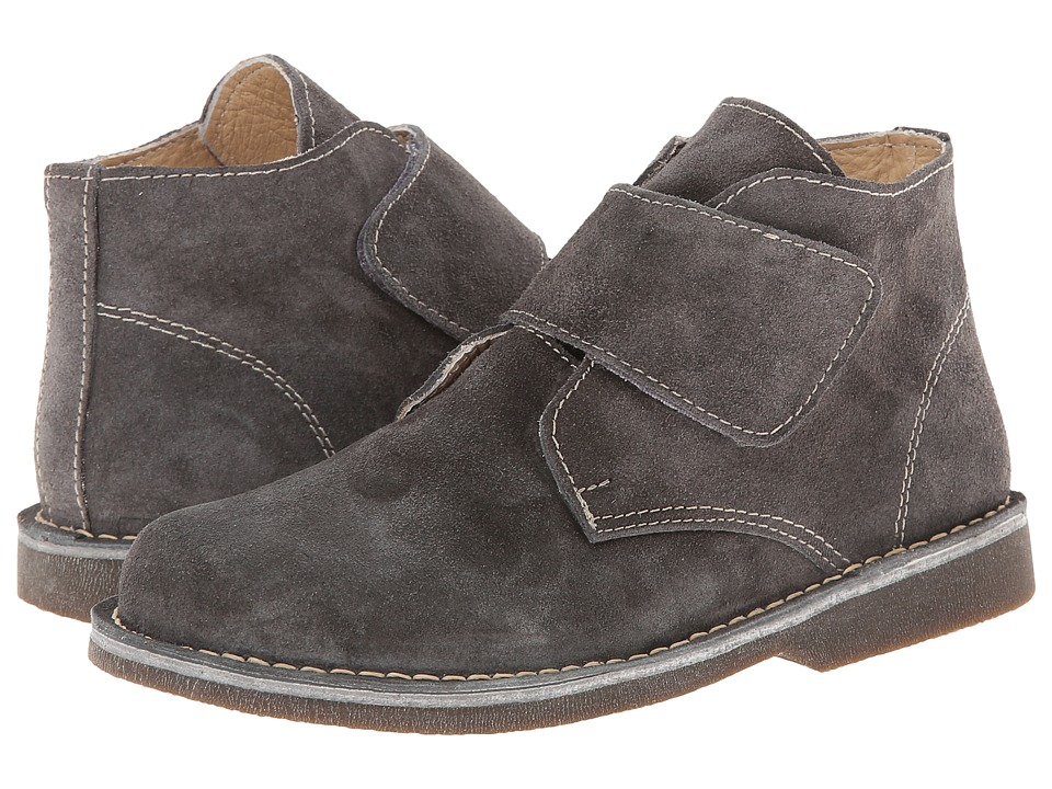 Kid Express Maddox Toddler/Little Kid/Big Kid Gray Suede Boys Shoes