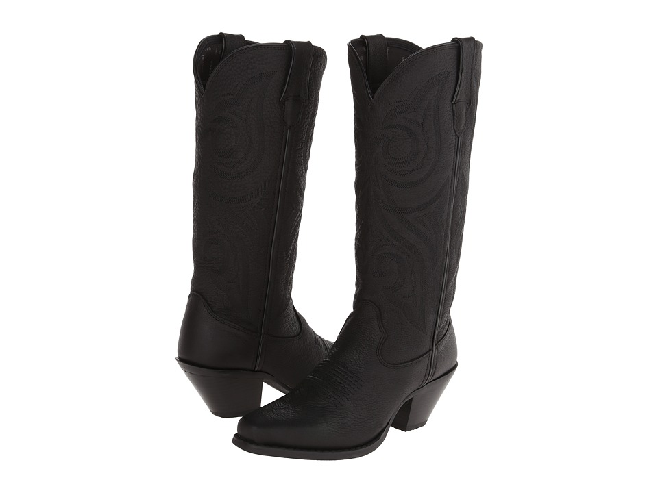 Durango Crush 13 Jealousy Snip Toe Black Cowboy Boots