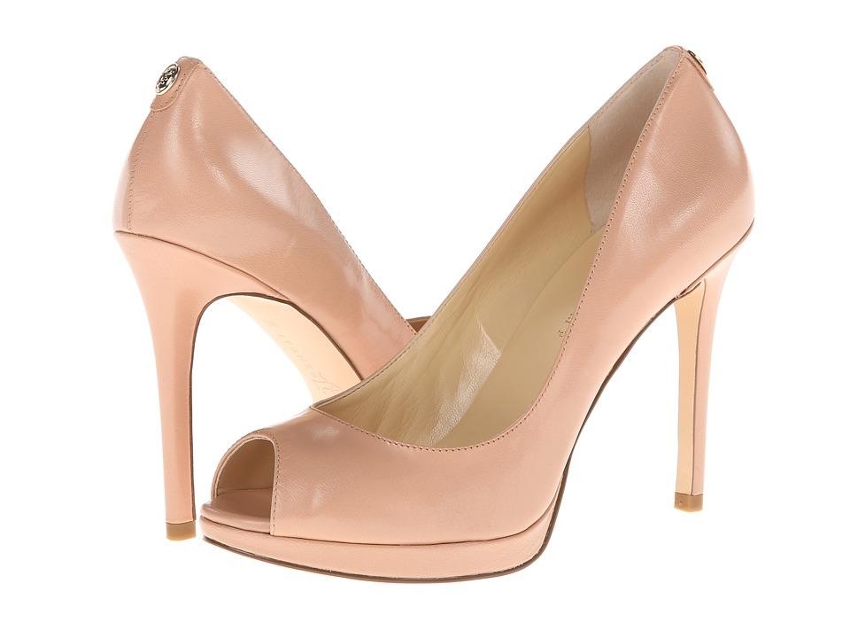 Ivanka Trump Maggie (Rich Beige Leather) High Heels