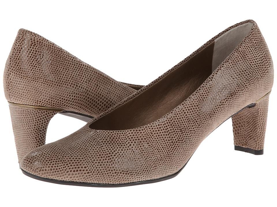 Vaneli Dayle (Taupe E-Print) 1-2 inch heel Shoes