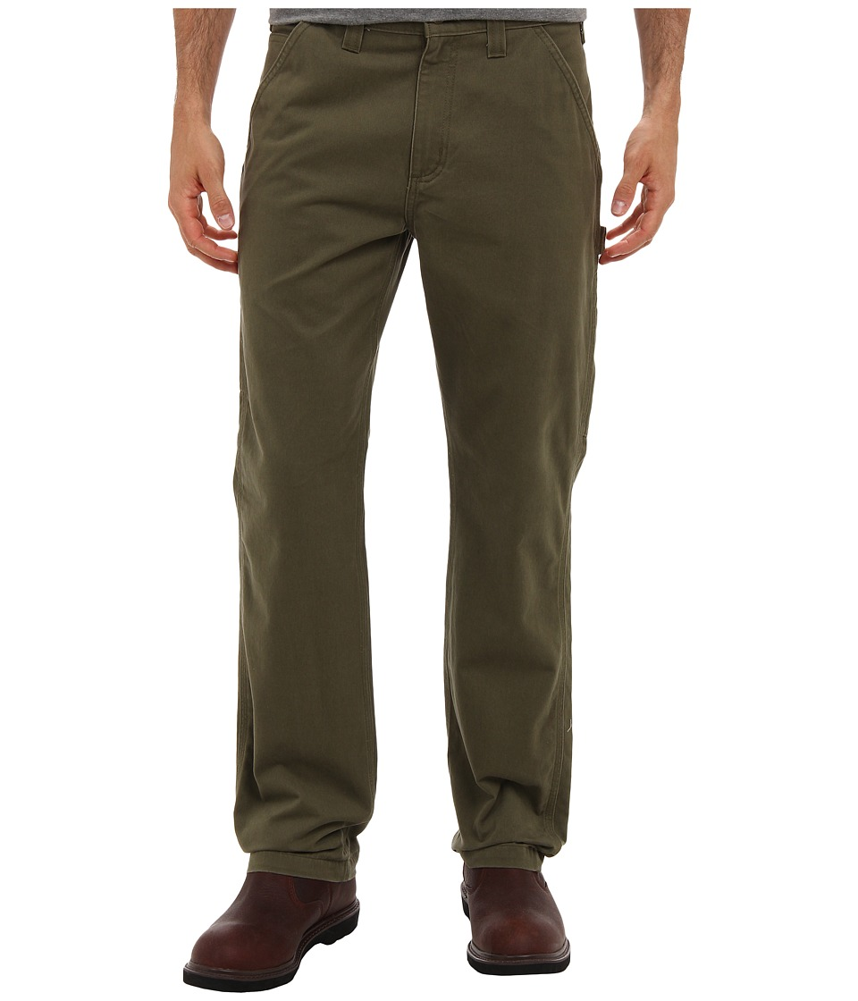 Carhartt Washed Twill Dungaree (Army Green) Men