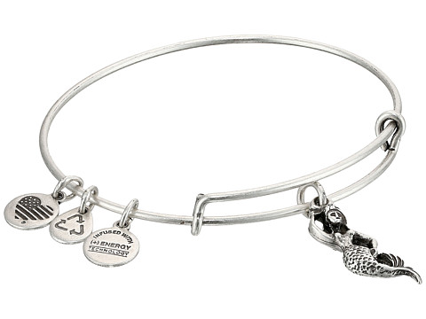 Alex and Ani Mermaid Charm Bangle