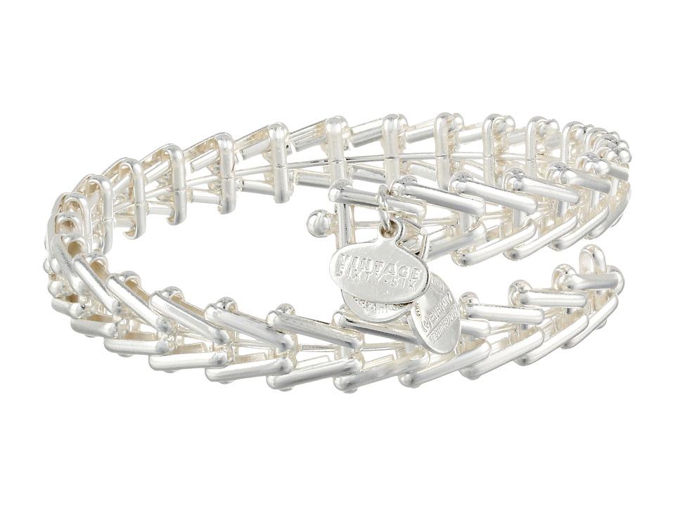 Alex and Ani Gypsy 66 Wrap Bracelet Shiny Silver Bracelet
