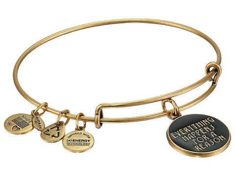 Alex and Ani Everything Happens for a Reason Charm Bangle