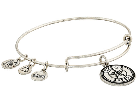 Alex and Ani MLB® Houston Astros Charm Bangle - Rafaelian Silver Finish