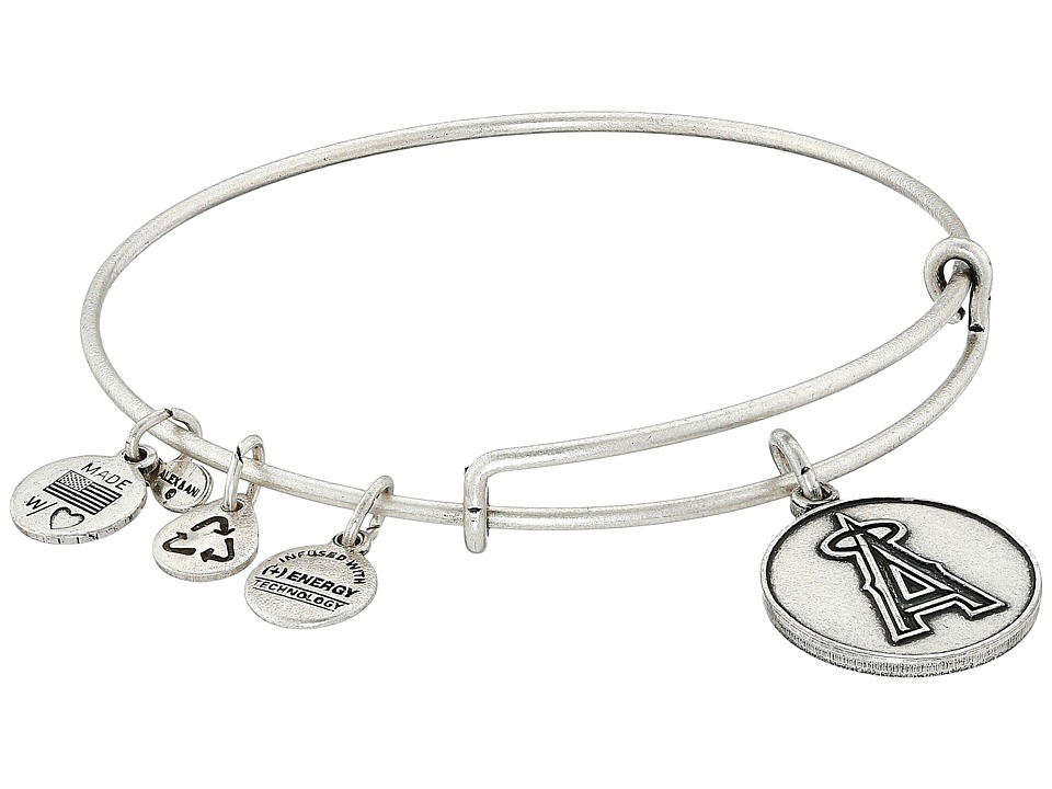 Alex And Ani Los Angeles Angels of Anaheim Women's Silver Bracelet