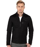 G-Star - A-Crotch Zip L/S Overshirt in Pound Twill PM Black