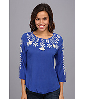 Lucky Brand - Dazzling Embroidered Top