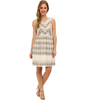 Ivy & Blu Maggy Boutique - Sleeveless Plaid Fit & Flare w/ Pip
