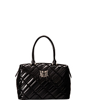 LOVE Moschino - I Love Patent Bowler Bag