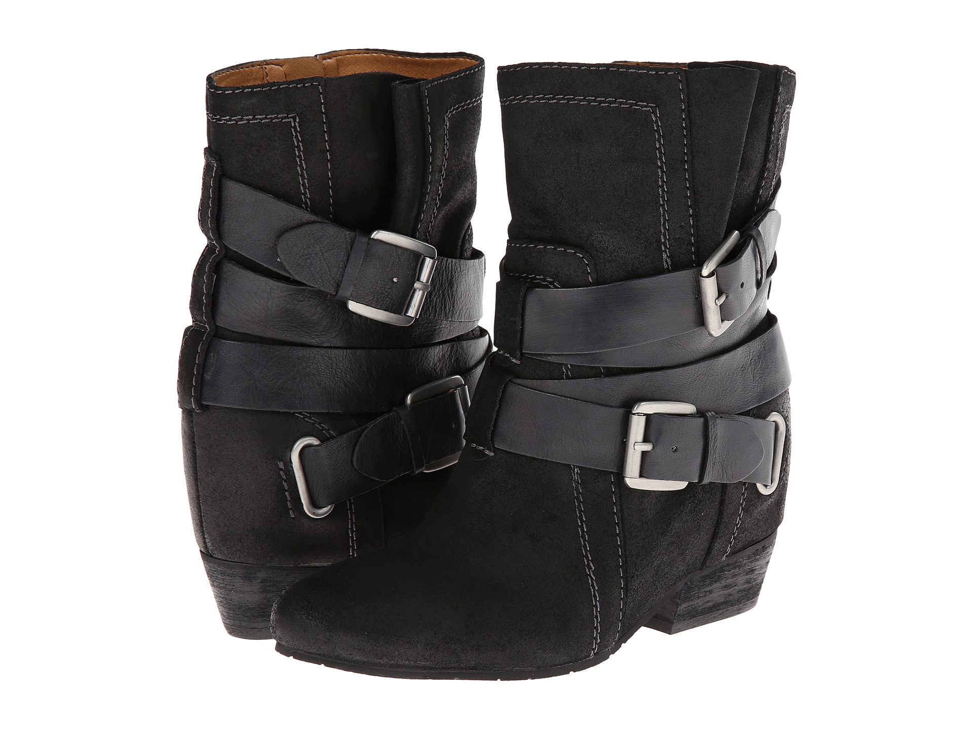 naya fisher wedge boot shoes shipped free