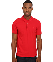 Versace Collection - Logo Embroidery Tone-on-Tone Polo