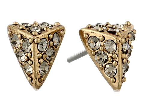 House of Harlow 1960 Pavé Triangle Studs