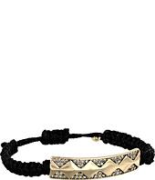 House of Harlow 1960 - Diamondhead Macrame Bracelet
