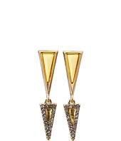 House of Harlow 1960 - Acute Pavé Double Drop Earrings
