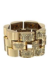 House of Harlow 1960 - Warrior Tiles Link Bracelet