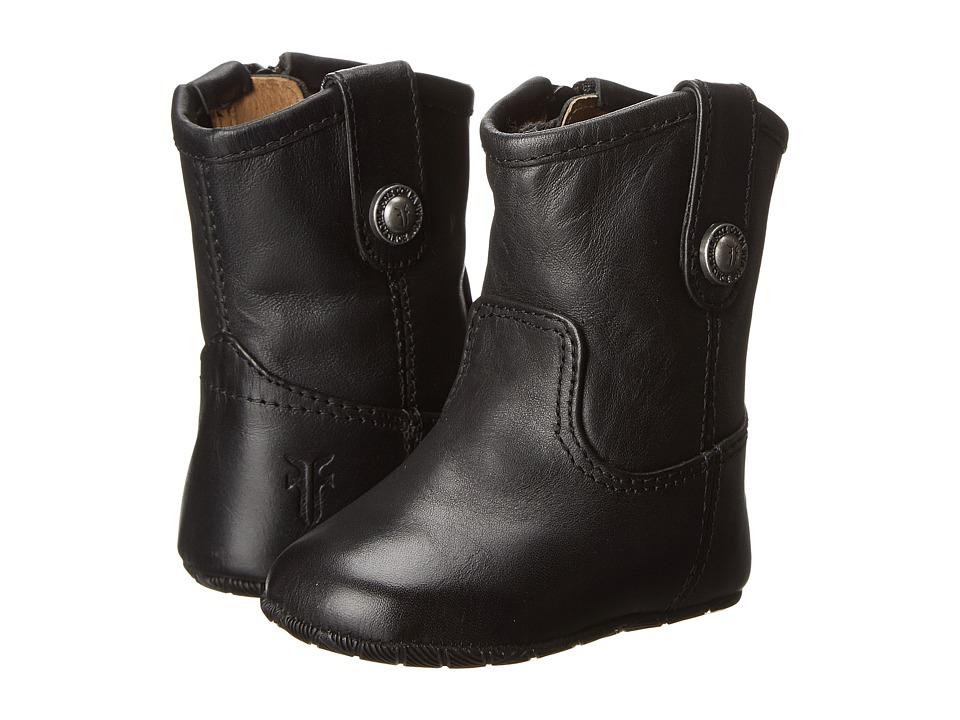 Frye Kids Melissa Button Bootie Infant/Toddler Black Kids Shoes