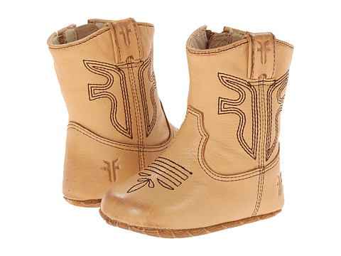 Frye Kids Rodeo Bootie (Infant/Toddler) - Tan 2