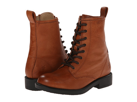 Frye Kids Veronica Combat (Little Kid/Big Kid) - Whiskey