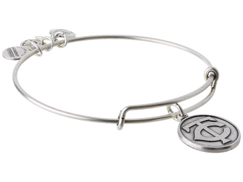 Alex and Ani MLB® Minnesota Twins Charm Bangle - Rafaelian Silver Finish