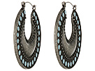 Gypsy SOULE - Painted Hoops (Silver)