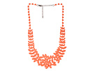 Gypsy SOULE - Painted Jewel Necklace (Coral)