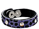 Gypsy SOULE - Kitty Cuff (Purple Leopard)