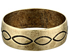 Gypsy SOULE - Antiqued Etched Bangle (Gold)