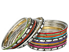 Gypsy SOULE - 17 Bangle Set (Silver/Multi)