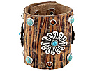 Gypsy SOULE - Wild Flower Bracelet (Brown)