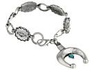 Gypsy SOULE Squashblossom Horseshoe Bracelet (Silver)