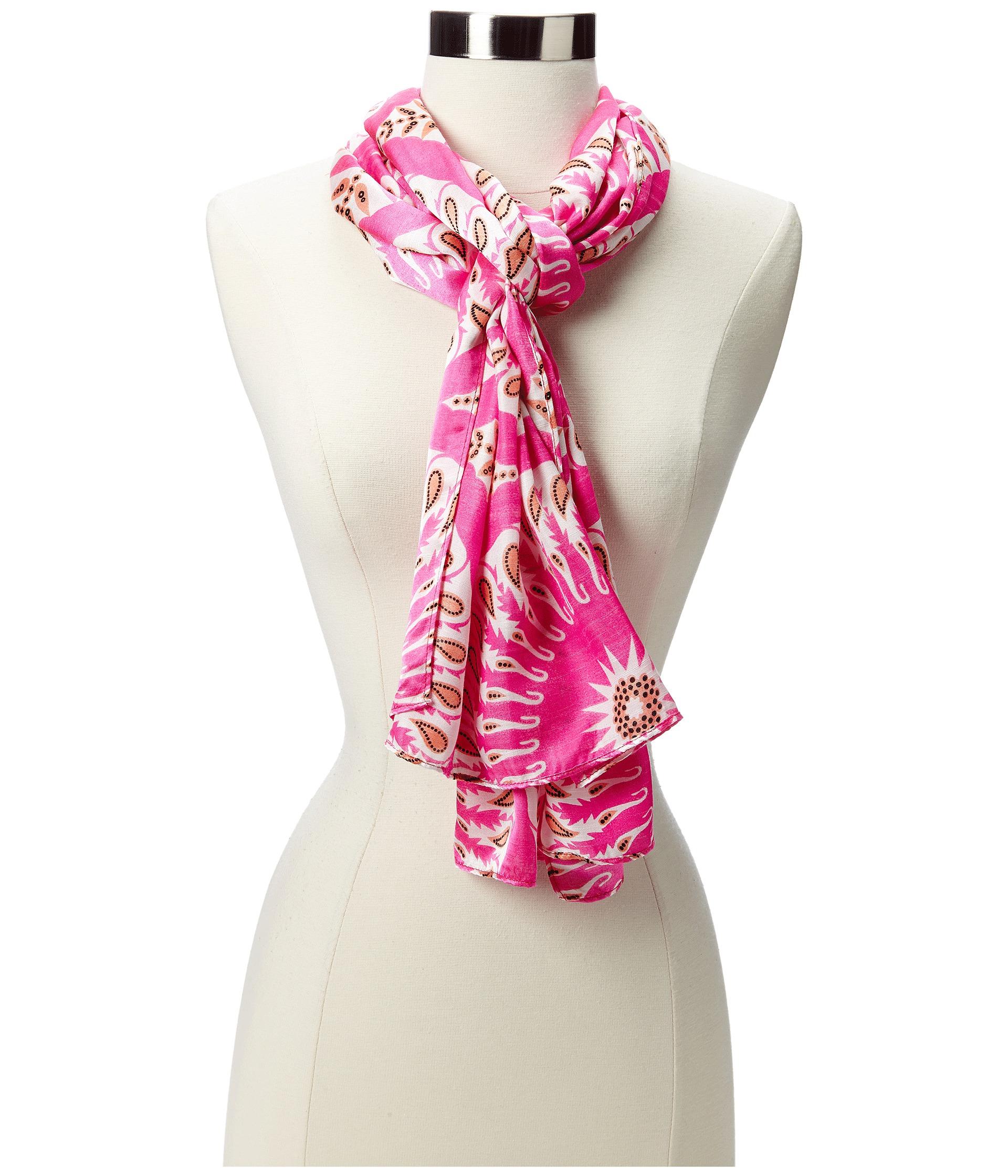 echo design circular pendants scarf pink zappos