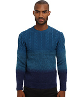 CoSTUME NATIONAL - Runway Ombre Cable Knit Sweater