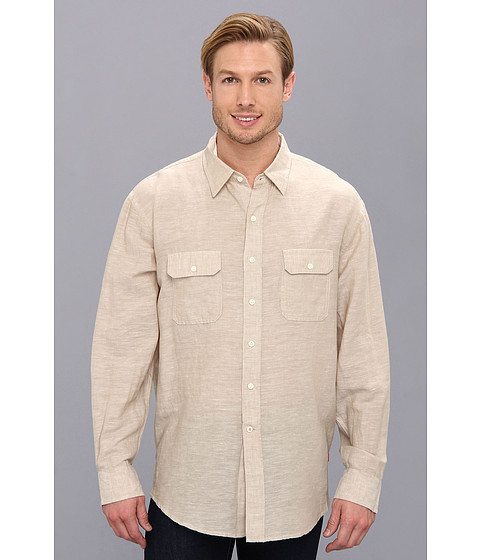 Search izod long sleeve solid linen button down for Izod button down shirts