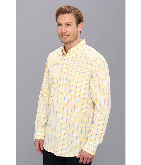 Izod long sleeve essential gingham button down for Izod button down shirts