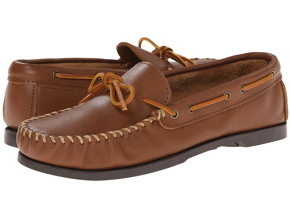 Minnetonka - Camp Mocc (Maple Smooth Leather) Mens Slippers