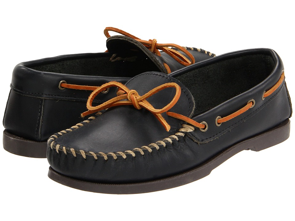 Minnetonka Camp Mocc (Black Smooth Leather) Men