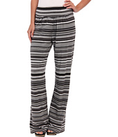 Mod-o-doc - Beach Stripe Cotton Modal Straight Leg Pant