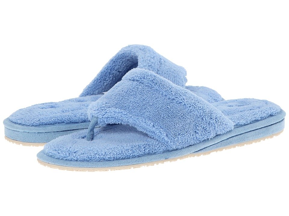 Patricia Green Splash Light Blue Womens Slippers