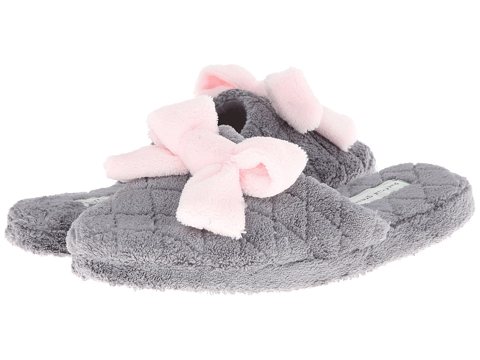 Patricia Green Bonnie Grey/Pink Womens Slippers