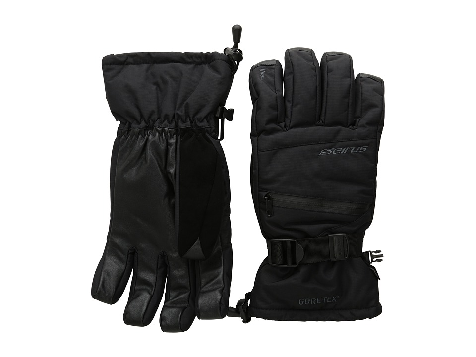 Seirus Gore-Tex Soundtouch Prism Glove (Black) Extreme Cold Weather Gloves